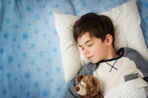 What does sleep do for a growing child?